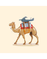 0058 04 Toy Soldier Pack Camel with Gun Carriage Kit