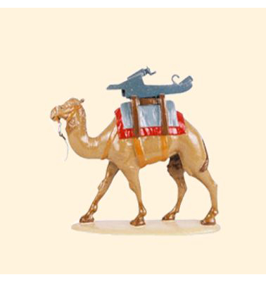 058 04 Toy Soldier Pack Camel with Gun Carriage Kit
