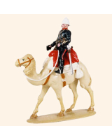 0058 01 Toy Soldier Mounted Officer in full dress Kit