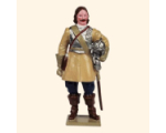 067-3 Toy Soldier Set Trooper with helmet in hand Foot Kit