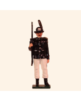 0068 3 Toy Soldier Private Italian Alpini Battalions Kit