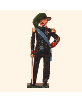 0071 1 Toy Soldier Officer Italian Bersaglieri 1900 Kit