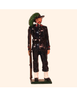 0071 3 Toy Soldier Private Italian Bersaglieri 1900 Kit