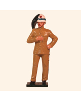 0072 1 Toy Soldier Officer Italian Bersaglieri China 1900 Kit