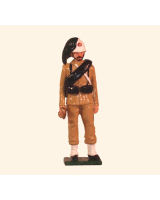 0072 2 Toy Soldier Sergeant Italian Bersaglieri China 1900 Kit