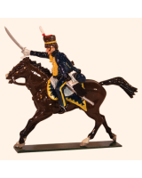 0761 1 Toy Soldier Trooper 7th Queens Own Hussars Kit