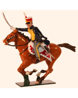 0763-1 Toy Soldiers Trooper 10th Prince of Wales's Own Hussars