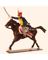 0763-2 Toy Soldiers Trooper 10th Prince of Wales's Own Hussars