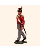 0764 1 Toy Soldier Officer Marching Kit