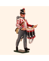 0765 1 Toy Soldier Drummer Kit