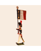 768 2 Toy Soldier Standard Bearer Kit