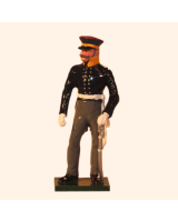 0777 1 Toy Soldier Officer Prussian Infantry Napoleonic War Kit
