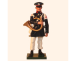 777 2 Toy Soldier Hornist Prussian Infantry Napoleonic War Kit