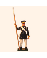 0777 3 Toy Soldier Sergeant Prussian Infantry Napoleonic War Kit