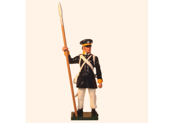 777 3 Toy Soldier Sergeant Prussian Infantry Napoleonic War Kit