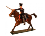 781-3 Toy Soldier Trooper Landwehr Prussian Dragoons Napoleonic War Kit