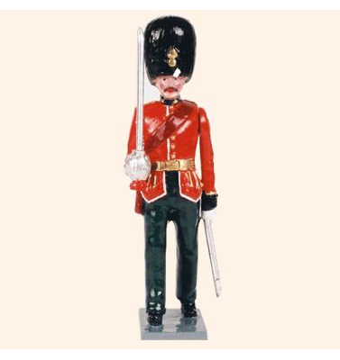 083 1 Toy Soldier Officer marching Kit