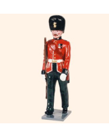 0083 2 Toy Soldier Sergeant marching Kit