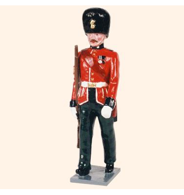 083 2 Toy Soldier Sergeant marching Kit