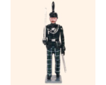 084 1 Toy Soldier Officer marching Kit