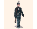 084 2 Toy Soldier Sergeant marching Kit