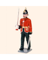0086 1 Toy Soldier Officer marching Kit