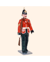 086 2 Toy Soldier Sergeant marching Kit