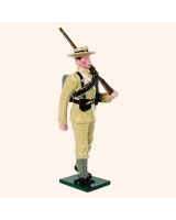 0091 04 Toy Soldier Seaman Marching shoulder arms The Boer War Kit