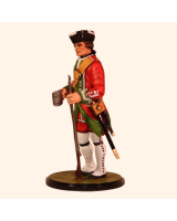 AC80 02 Private Centre Company 24th Foot 1750 Painted