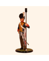 AC80 03 Gunner Royal Horse Artillery 1815 Painted