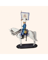 AL 1002 T.S. Standard Bearer Life Guard Full Dress Painted