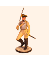 AL90 61 T.S. Officer Drabant Marching Cavalry Painted