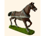 ART3 Off horse in full harness 30mm Tradition War game figures Kit