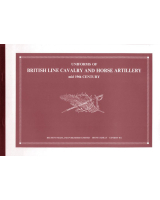 No 02A Uniforms of British Line Cavalry and Horse Artillery Booklets