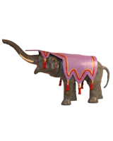 002 CBG - Circus Elephant Painted