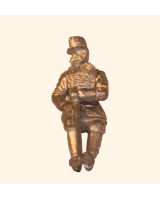 CP 03 Austrian General in campaign dress seated Foot CK 30mm Kit