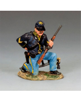 CW064 Corporal Trooper Kneeling Loading Carbine King and Country