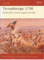 Osprey Publishing Campaign 076 Ticonderoga 1758 some used