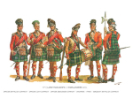Charles C. Stadden Plate - No.004 - 73rd Lord Macleod's Highlanders 1777