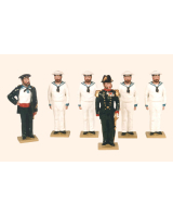 D3A Toy Soldiers Set The Danish Navy 1880 Painted