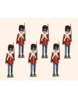 D7A Toy Soldiers Set The Danish Royal Guard Marching Painted