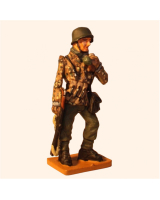 Del Prado 030 SS Panzer Grenadier Ardennes Germany 1944 Painted