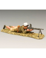 EA55 Legionnaire Lying Machine Gun Montgomerys 8th Army King and Country