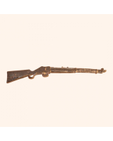 No.020 Rifle - Martini Henry Breech Loading Single Shot Lever Actuated Rifle in service 1871-1888 - Kit, unpainted Scale 1:32/ 54mm