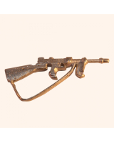 No.028 Rifle - Thompson Sub Machine Gun American Army WW2 - Kit, unpainted Scale 1:32/ 54mm