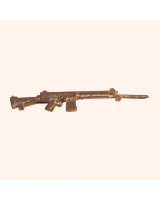 No.031 Rifle - SLR Rifle British Army introduced 1956/57 - Kit, unpainted Scale 1:32/ 54mm