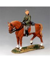 FOB055 German Mounted Adjutant King and Country