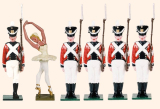 The Steadfast Tin Soldier Set Painted
