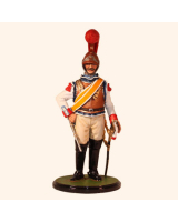 JW80 13 French Carabinier Trooper 1812-1815 Painted