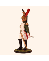 JW80 17 French Imperial Guard Dragoons Officer 1812 Painted